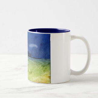 Storm over Stonehenge Two-Tone Coffee Mug