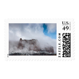 Storm Over the Colorado National Monument Postage