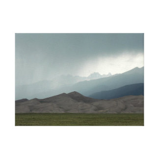 Storm over the Great Sand Dunes, Colorado Canvas Print