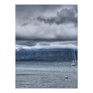 Storm Over The Lake Card