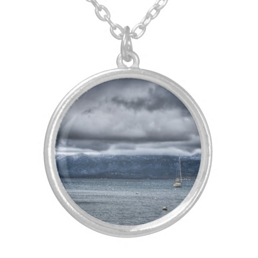 Storm Over The Lake Custom Jewelry