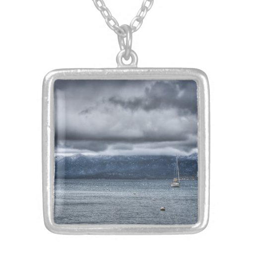 Storm Over The Lake Pendants