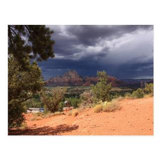 Storm over Vortex Postcard
