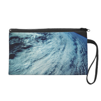 Storm Patterns on Earth Wristlet Purse