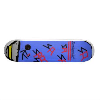 Storm Red EarthQuake Skateboard Deck