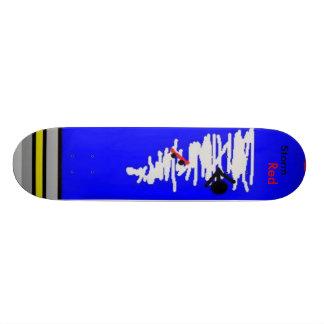 Storm Red First Design Skateboard Decks