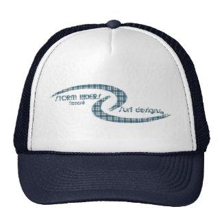Storm Riders Nazaré Surf Designs CAP square blue