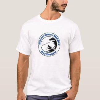 Storm Riders Nazaré Surf Designs T-Shirt_barrel T-Shirt