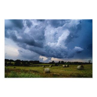 Storm Rollin' In Photo Art