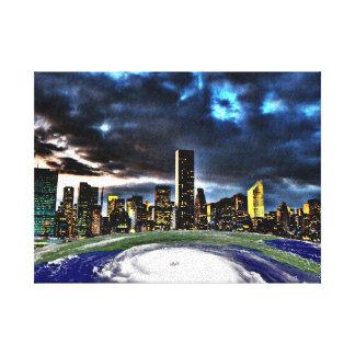 Storm Sandy2012_Stretched Canvas Print