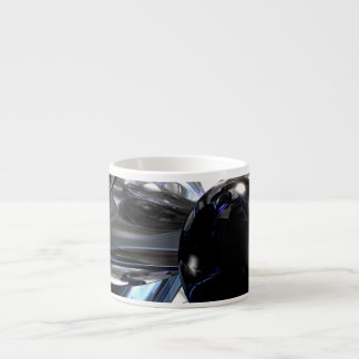 Storm Shadow Abstract Espresso Cup