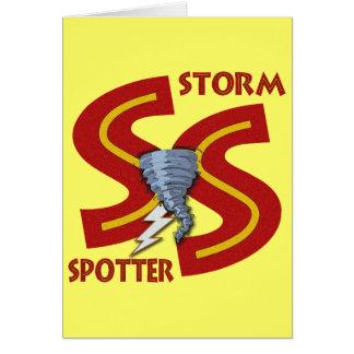 Storm Spotter Card