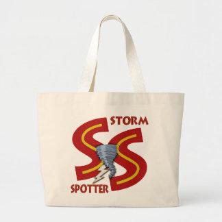 Storm Spotter Large Tote Bag