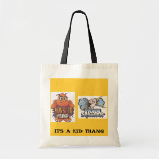 Storm Squasher pic, monster vapor, IT'S A KID T... Tote Bag
