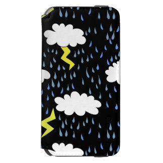 Storm Stormy weather iPhone 6/6s Wallet Case