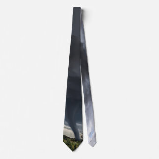 Storm tornado or twister disaster weather neck tie