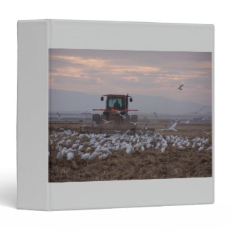Storm, Tractor, Egrets Avery Binder