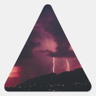 storm triangle sticker
