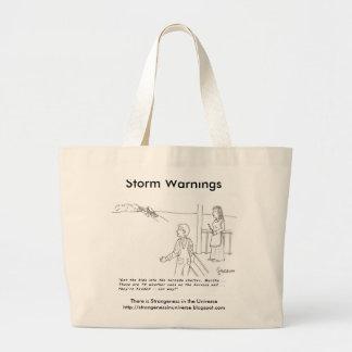 Storm Warnings Tote Bag