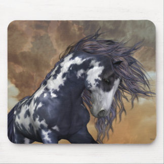Storm .. Wild Horse Mouse Pad