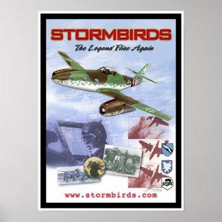 """Stormbirds """"que la leyenda vuela otra vez """" póster"""