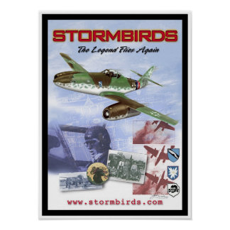 "Stormbirds ""The Legend Flies Again"" Posters"