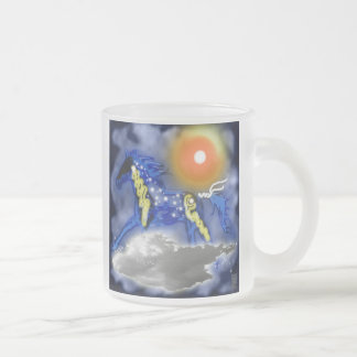 stormbringer 10 oz frosted glass coffee mug