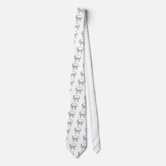 Stormcloud Design Neck Tie