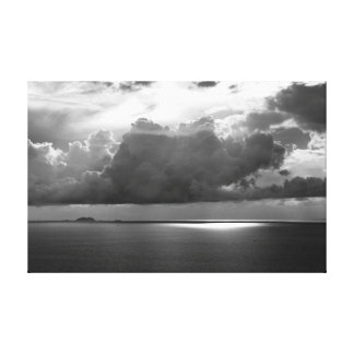 Stormclouds Over Gulf Canvas Print