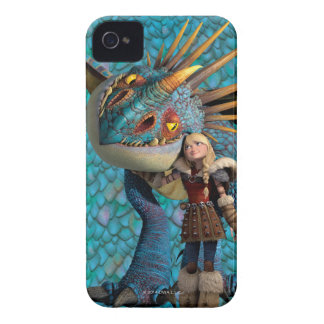 Stormfly And Astrid iPhone 4 Cover