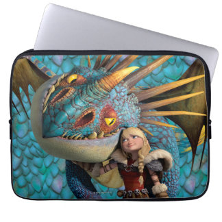 Stormfly And Astrid Laptop Sleeves