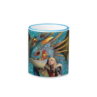 Stormfly And Astrid Ringer Coffee Mug