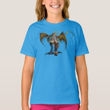 Stormfly And Astrid T-shirt by howtotrainyourdragon at Zazzle