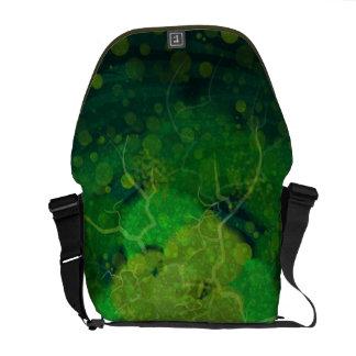 Storming Green Messenger Bag