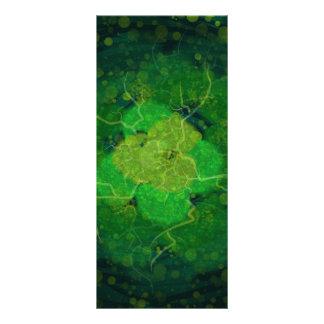 Storming Green Rack Card