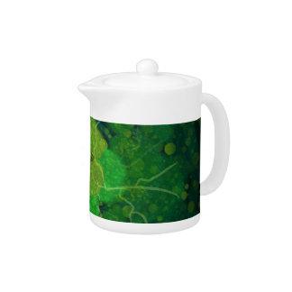 Storming Green Teapot