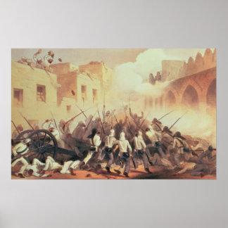 Storming of Delhi in 1857 Poster