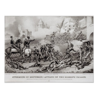 Storming of Monterey Poster