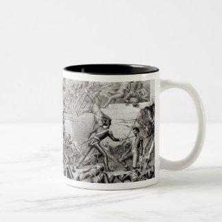 Storming of Monterey Two-Tone Coffee Mug