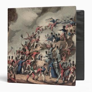 Storming of St. Sebastian, engraved by Thomas Binder