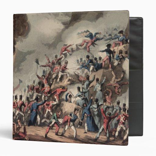 Storming of St. Sebastian, engraved by Thomas Binders