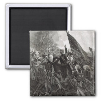 Storming of Stony Point, July 1779 2 Inch Square Magnet