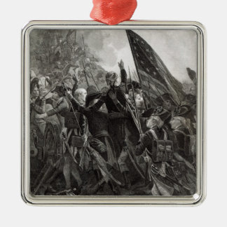Storming of Stony Point, July 1779 Metal Ornament