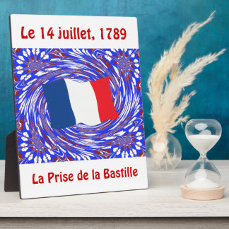 Storming the Bastille, 14 July 1789 Plaque