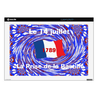 Storming the Bastille, 14 July 1789 Laptop Decal