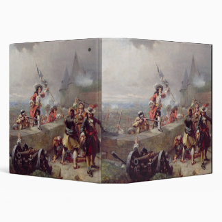 Storming the Battlements (oil on canvas) Binder