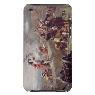 Storming the Battlements (oil on canvas) iPod Touch Cases