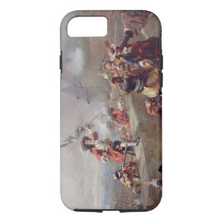 Storming the Battlements (oil on canvas) iPhone 7 Case