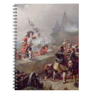 Storming the Battlements (oil on canvas) Notebook