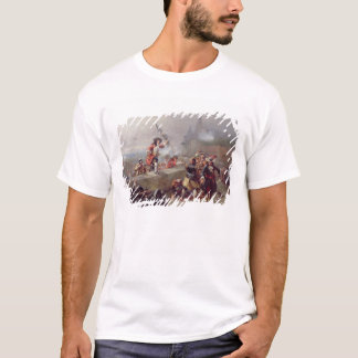 Storming the Battlements (oil on canvas) T-Shirt